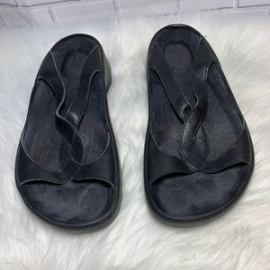 Birkenstock Tatami Black Slide Mules Size 9